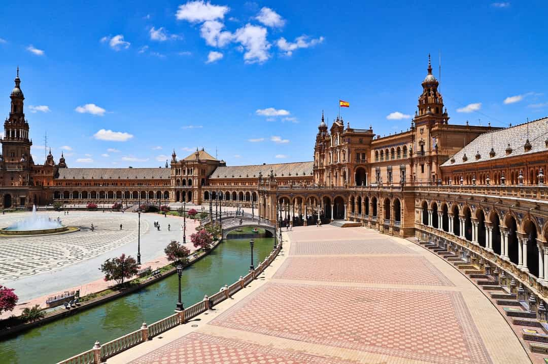 Palace Complex in Spain