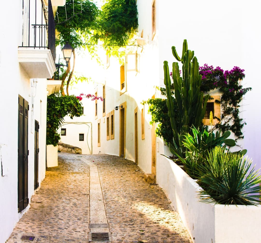 White Town Village in Spain