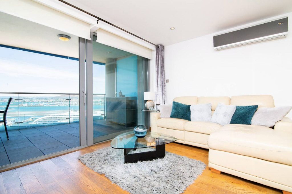 Modern apartment on Airbnb in Gibraltar